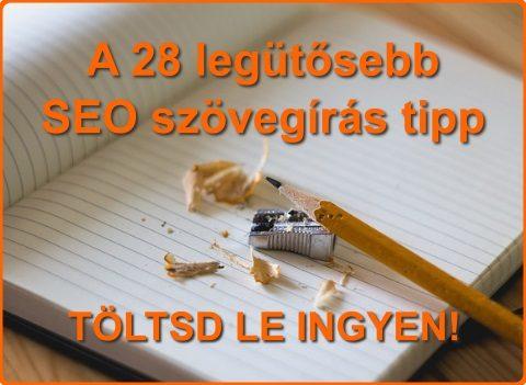 A 28 legütősebb SEO szövegírás tipp