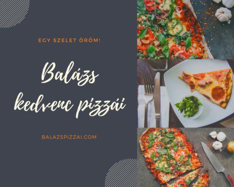 Balázs kedvenc pizzái Canva kép