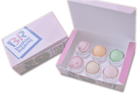 Baskin Robbins doboz