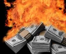 Égő pénz