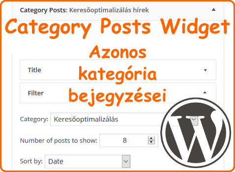Category Posts Widget WordPress plugin