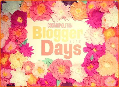 Cosmopolitan blogger days 20018