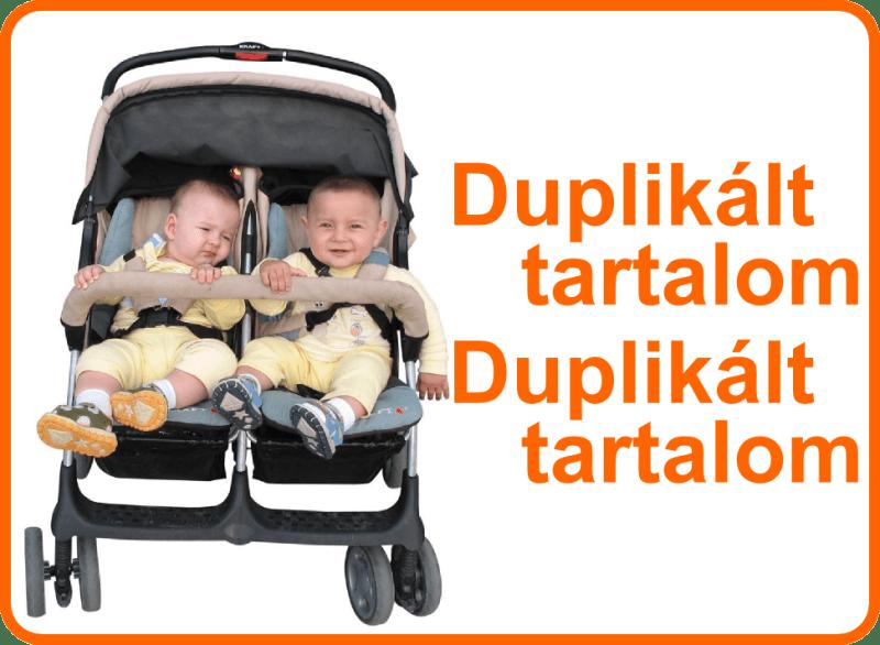 Duplikáció: a duplikált tartalmak misztifikációja