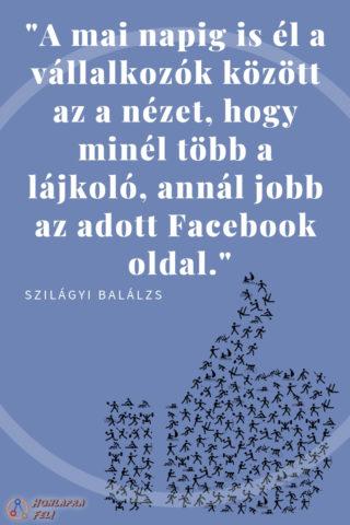 Facebook marketing idézet