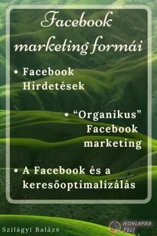 Facebook marketing formái