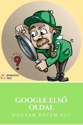 Google első oldal