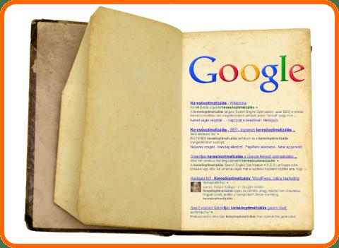 Könyv: Google első oldal