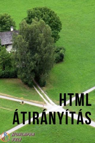 HTML átirányítás