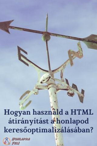 HTML átirányítás keresőoptimalizálás, SEO
