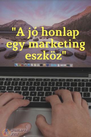 Honlapkészítő vs. keresőoptimalizáló - A jó honlap egy marketing eszköz.