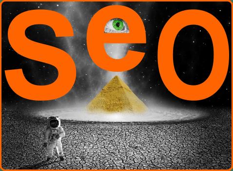 Keresőoptimalizálás alapjai: piramis, szem, holsd, SEO