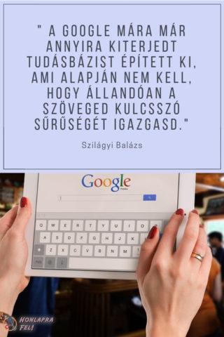 Keresőoptimalizálás lépésről lépésre Google