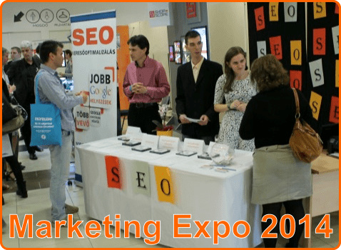 Marketing Expo 2014 Honlapra Fel! stand