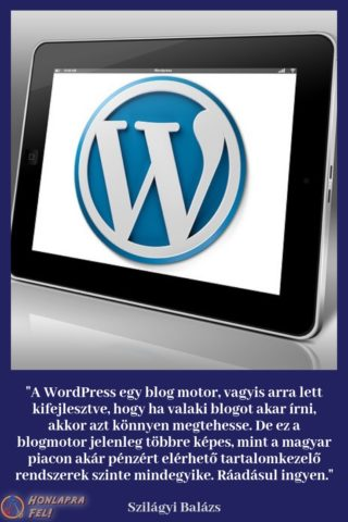 Mi a WordPress?