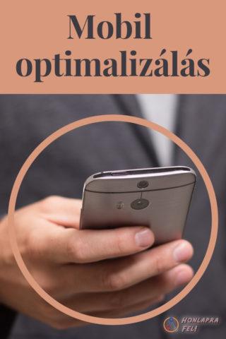 Mobil optimalizálás cím