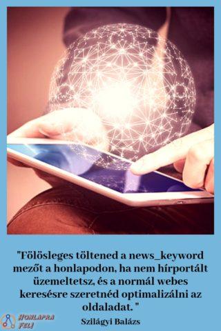 News keyword meta tag