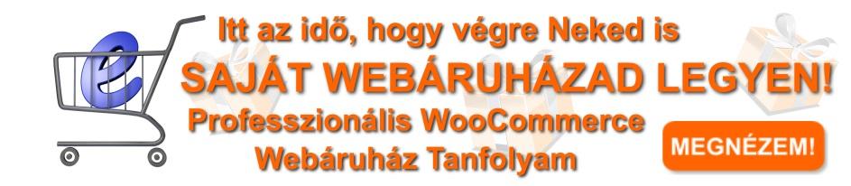 Saját webáruház képzés banner
