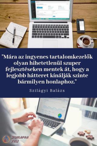 Saját honlap készítése WordPress