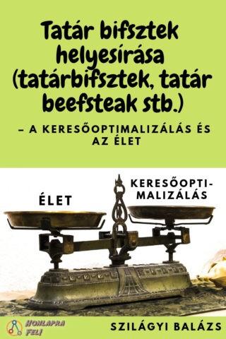 Tatár bifsztek, tatárbifsztek, tatár beefstek helysírása