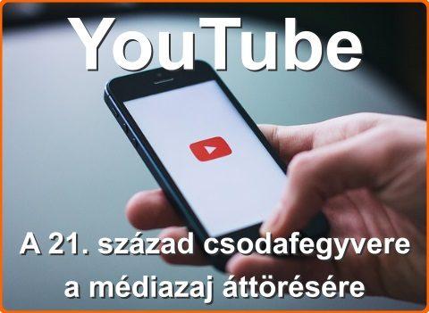 YouTube – A 21. század csodafegyvere a médiazaj áttörésére
