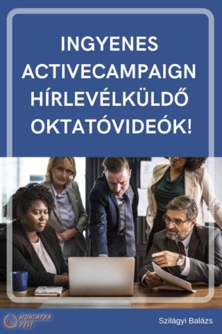 ActiveCampaign a legjobb hírlevélküldő videó