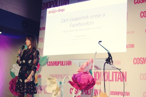 Cosmopolitan blogger days Oravecz Nóri