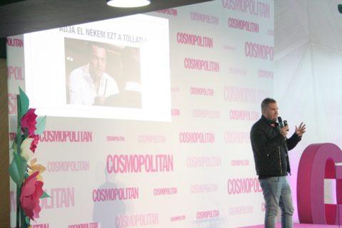 Cosmopolitan blogger days 2018 Kasza Tibor