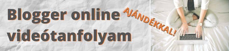 Blogger képzés banner ajándékkal általános
