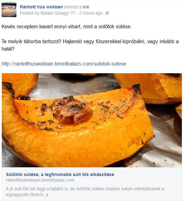 Facebook poszt kép