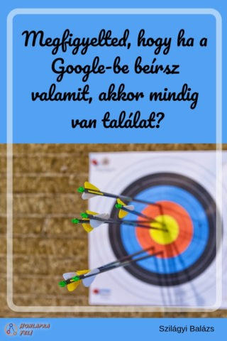 google egyéni kereső találat