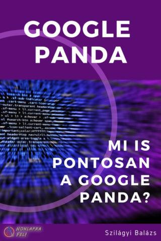 google panda mi is pontosan