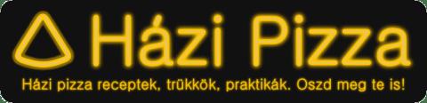 Házi pizza felirat - Inkscape-pel készítve