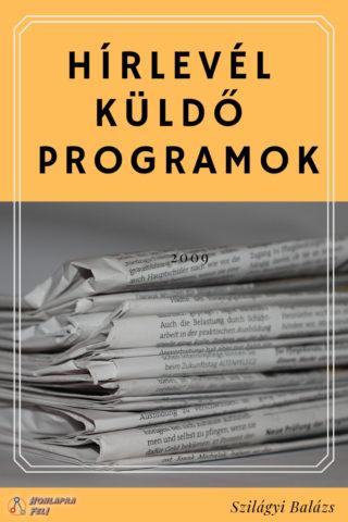 hírlevél küldő programok