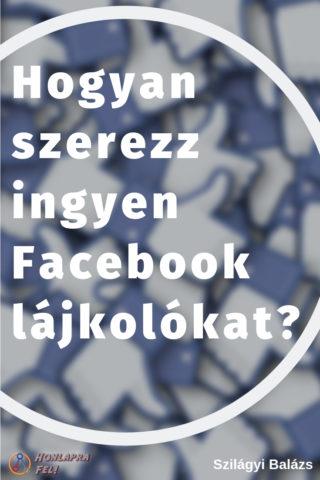 hogyan szerezz ingyen facebook lájkolókat emberek