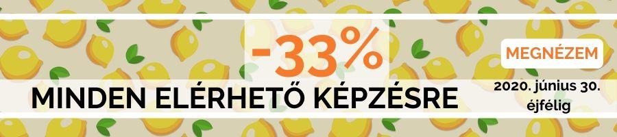Honlapra Fel! 33 százalék akció