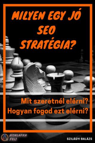 keresőoptimalizálás lépései jó seo stratégia
