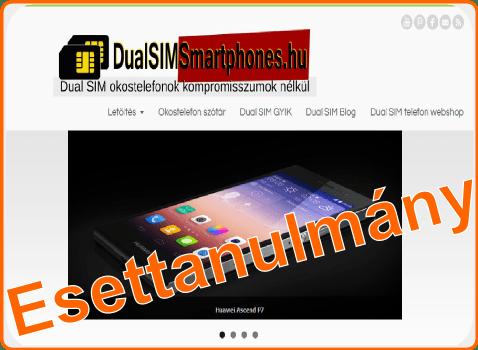 esettanulmány - DualSimSmartPhones