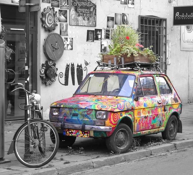 Kifestett autó