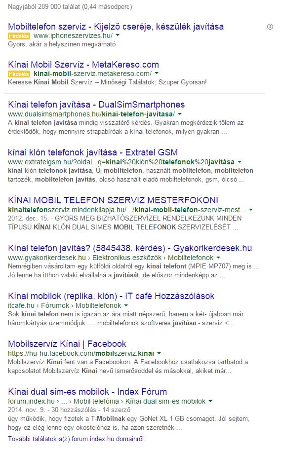Google helyezések - DualSimSmartphones.hu