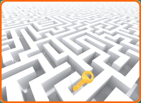 Kulcsszókutatás - kulcs a labirintusban