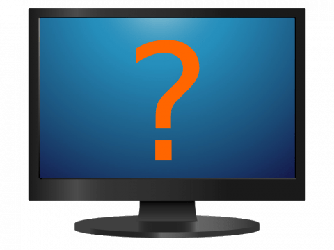 Monitor és kérdőjel
