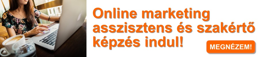 Online marketing asszisztens és szakértő képzés indul