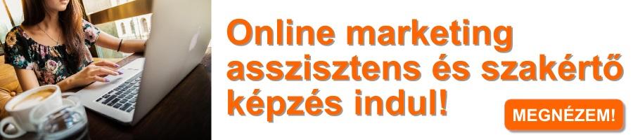 Online marketing asszisztens és szakértő képzés indul