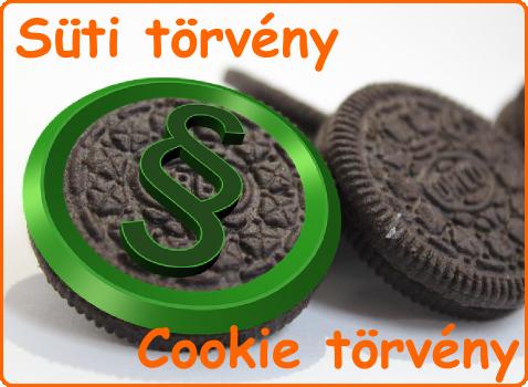 Adatvédelmi törvény és a cookie-k (sütik)