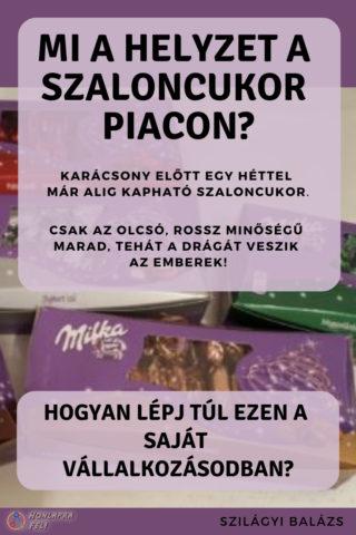 Szaloncukor piac mi a helyzet a magyar piacon