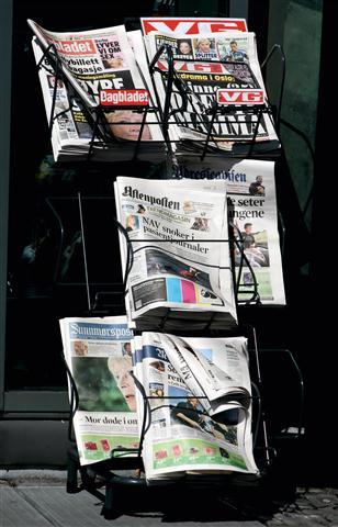 Szövegírás újságok