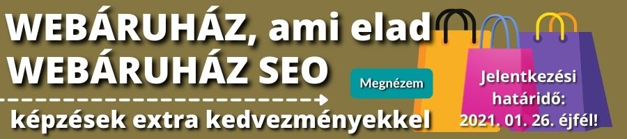 Webáruház csomag banner akció
