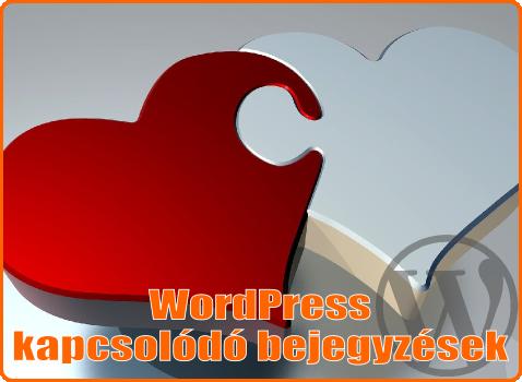 WordPress kapcsolódó bejegyzések