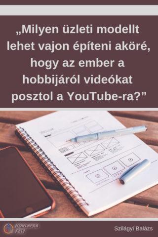youtube mint bevételi eszköz üzleti modell